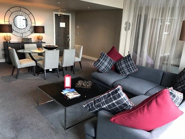 Noel Pope suite Brooklands hotel