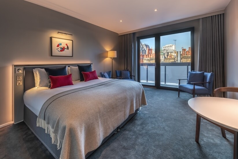 junior suite at The Nadler Covent Garden