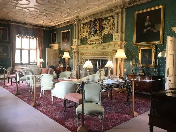 Drawing room Sherborne Castle