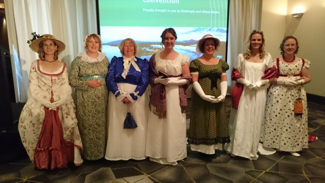 Regency fashion parade