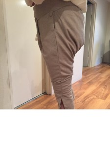 Breeches finished - side - Modelled by SO