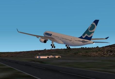 décollage de La Réunion