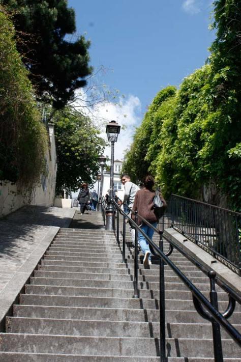 escaliers-de-montmartre