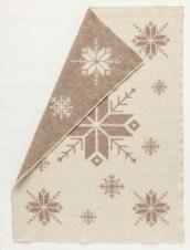 Álafoss Wool Blanket - Brown 0302