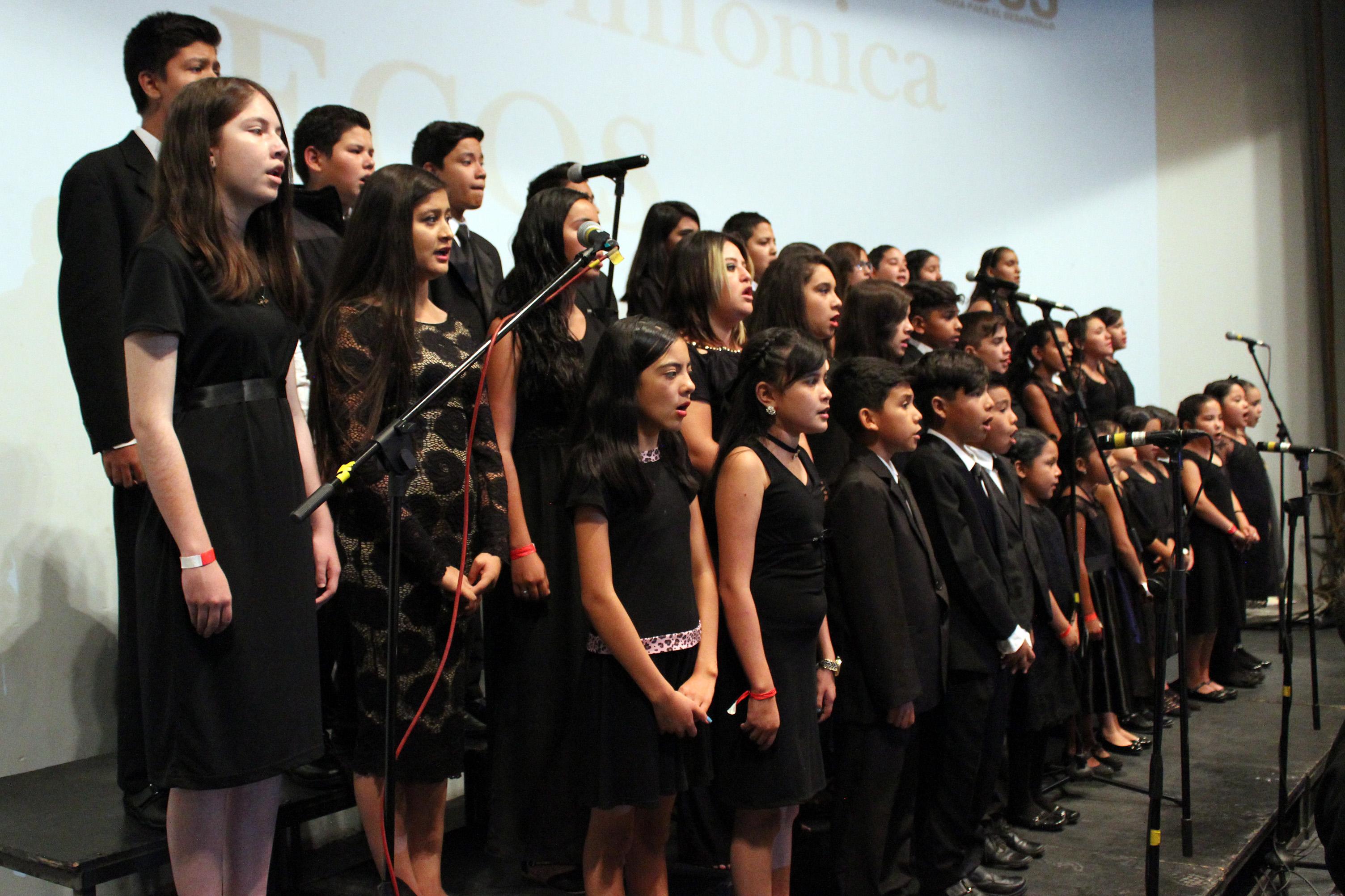 Conformarán coro con 200 niños de núcleos ECOS / Convocatoria