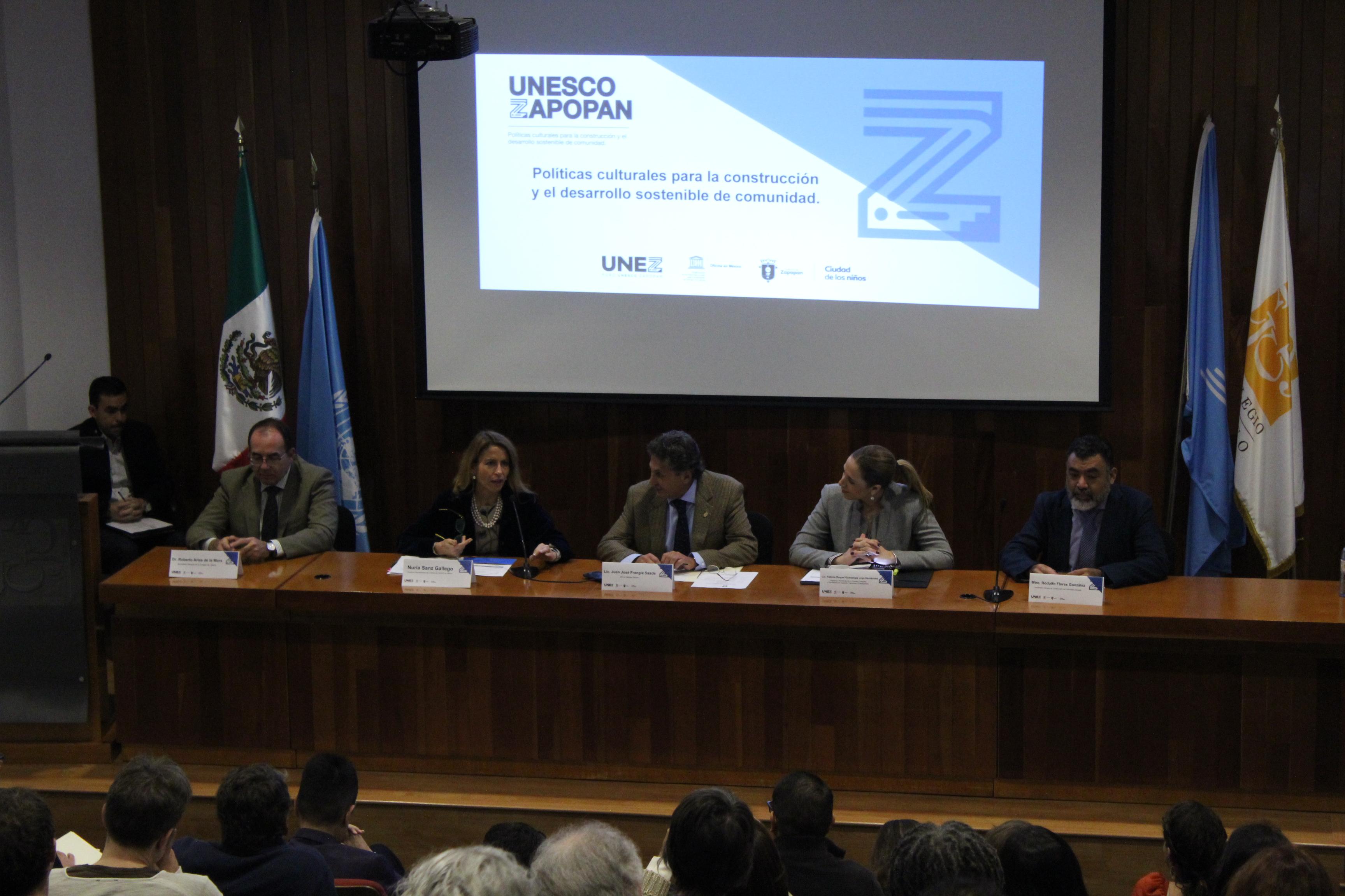 Presenta Zapopan Declaración Internacional de Políticas Culturales para el Desarrollo Sostenible de la Comunidad