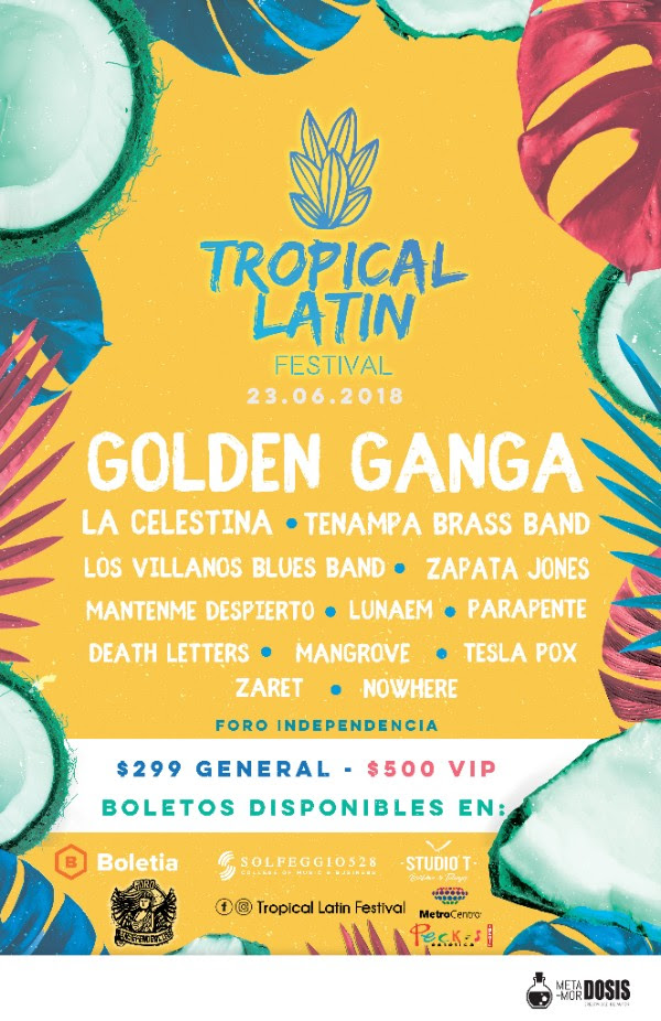 Tropical Latin Festival / Foro Independencia CANCELADO