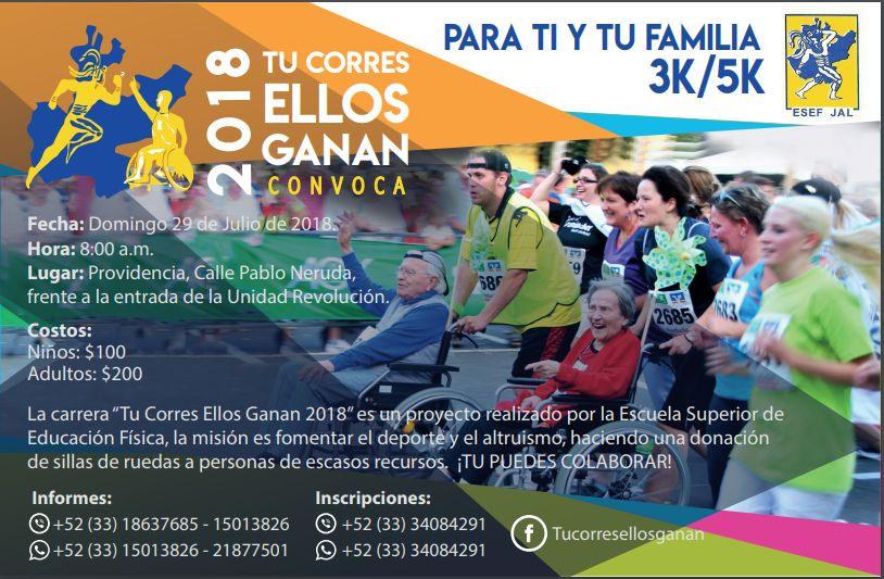 Tu corres, Ellos Ganan / Providencia / 29 de julio