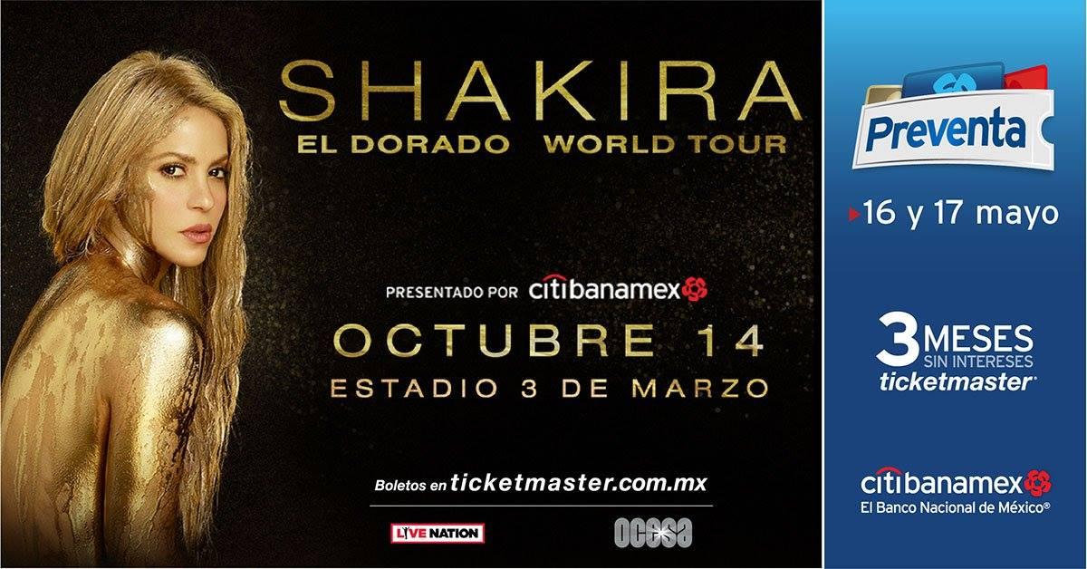 Shakira / Estadio 3 de marzo
