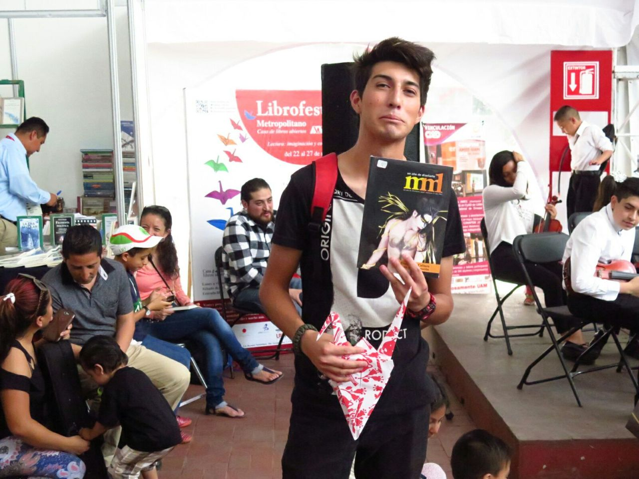 """""""Juventud Solidaria, Cultura y Política"""",  Los Temas del Librofest Metropolitano 2018"""