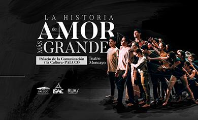 #CORTESÍAS #DateAlaFuga / La historia de amor más grande / PALCCO