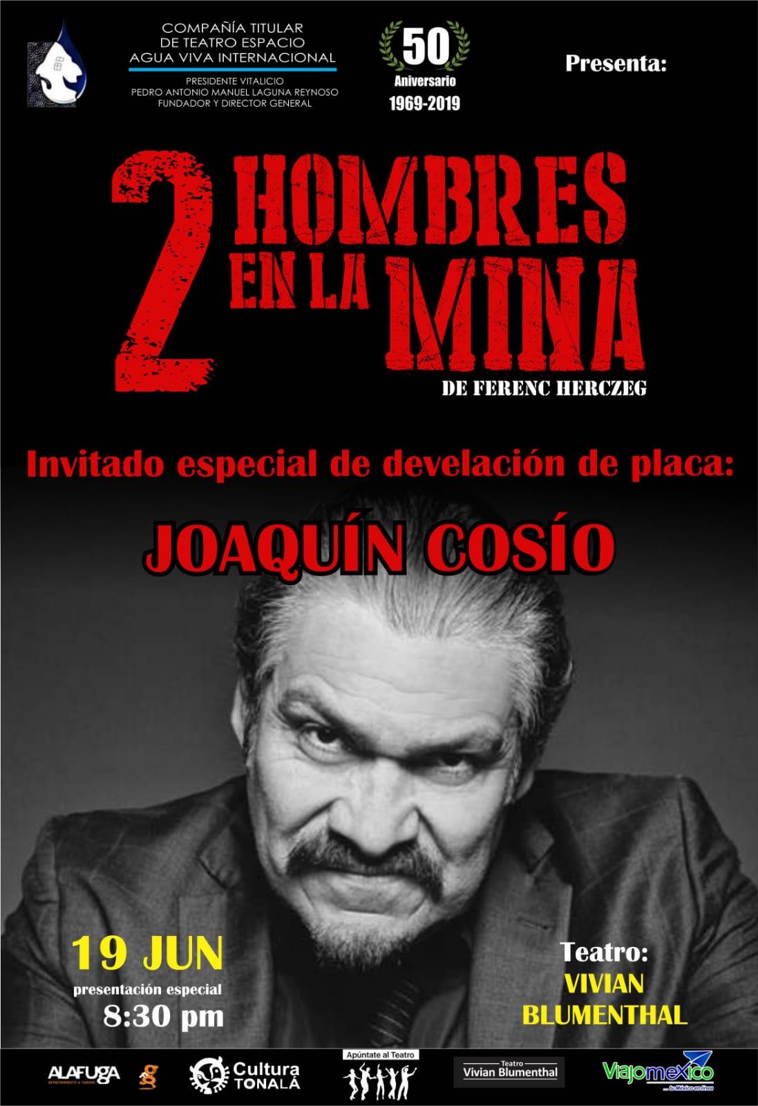 #CORTESÍAS #DateAlaFuga / 2 Hombres en la mina / Teatro Vivian Blumental