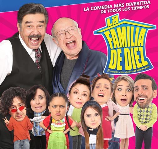 La Familia de 10 / Teatro Diana
