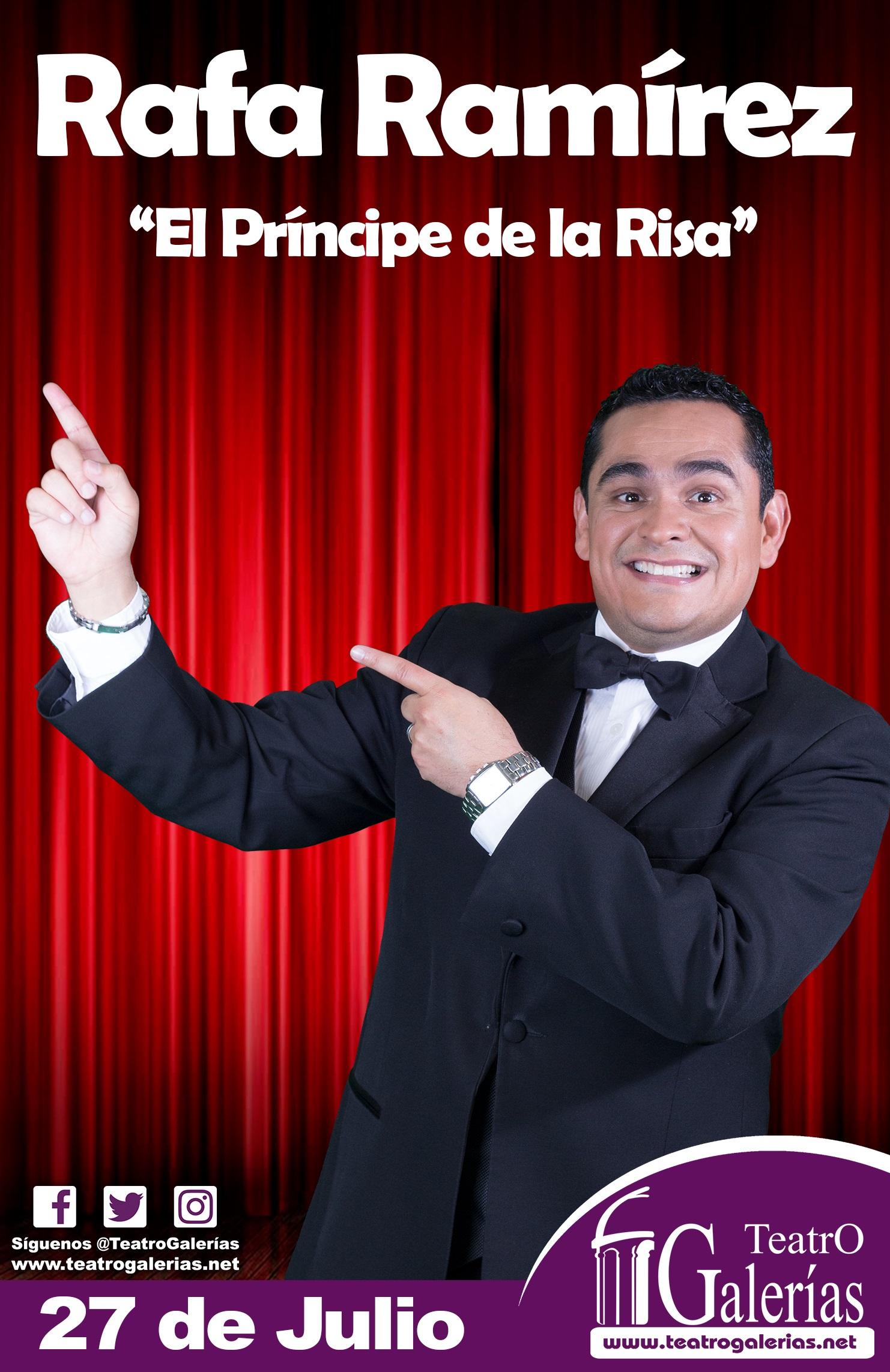 Rafa Ramirez / Teatro Galerías