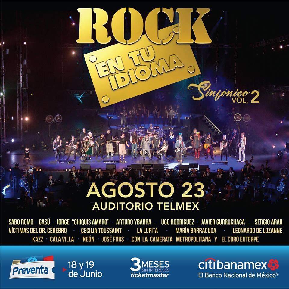 Rock en tu Idioma Sinfónico Vol. 2 / Auditorio TELMEX