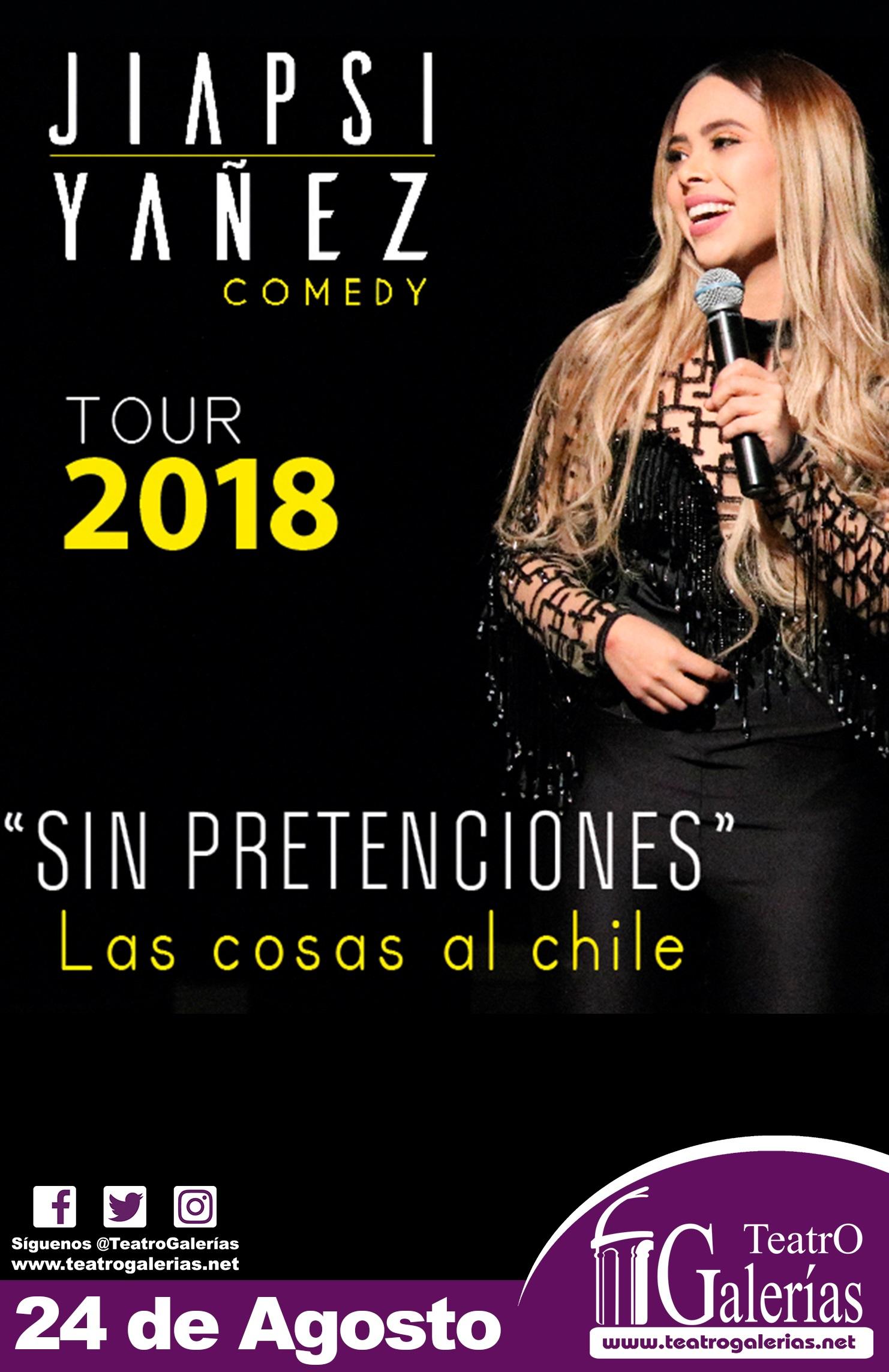 Jiapsy Yáñez / Teatro Galerías