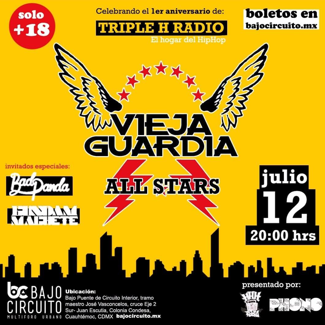 Aniversario Triple H Radio / Bajo Circuito