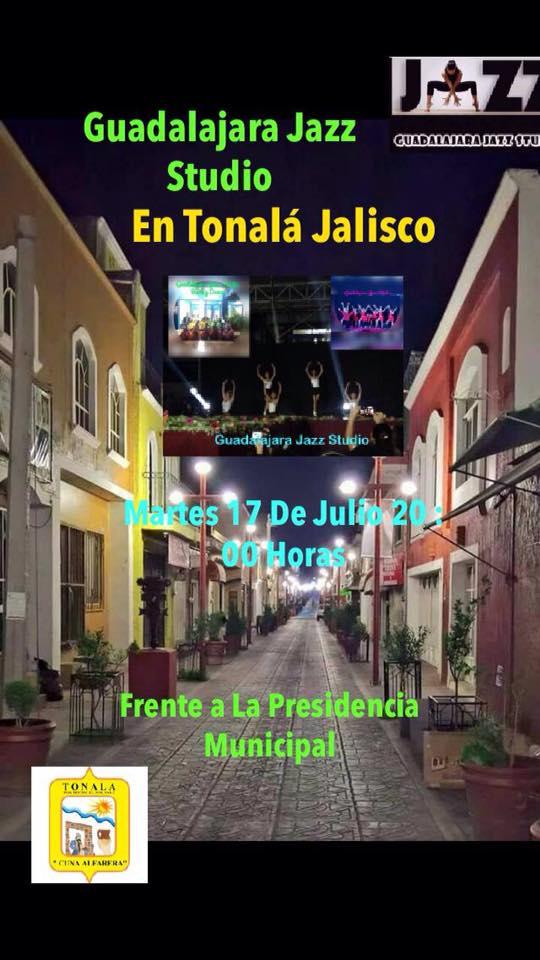 Guadalajara Jazz Studio / Frente a la Presidencia Municipal de Tonala