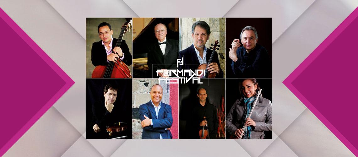 #DateAlaFuga #Cortesías / Formandi Festival presenta: Gala Internacional de Música de Cámara / Conjunto de Artes Escénicas