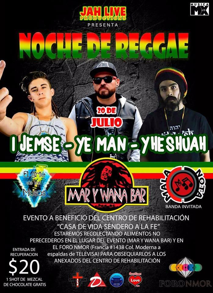 Noche de Reggae / Mar y Wana Bar