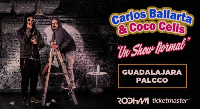 Carlos Ballarta y Coco Celis / PALCCO