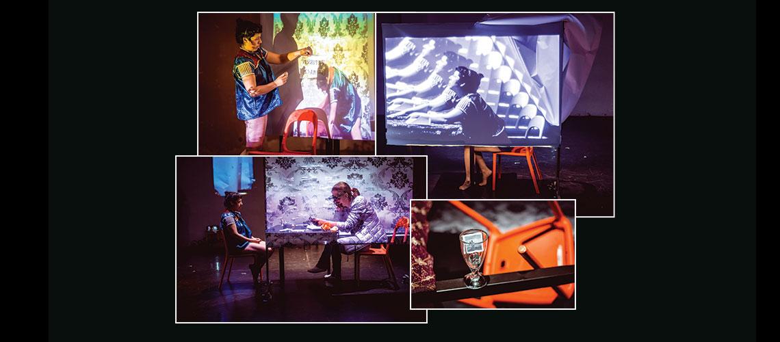 Stereopresence: Performance Escénico con Cristina Maldonado / Conjunto de Artes Escénicas