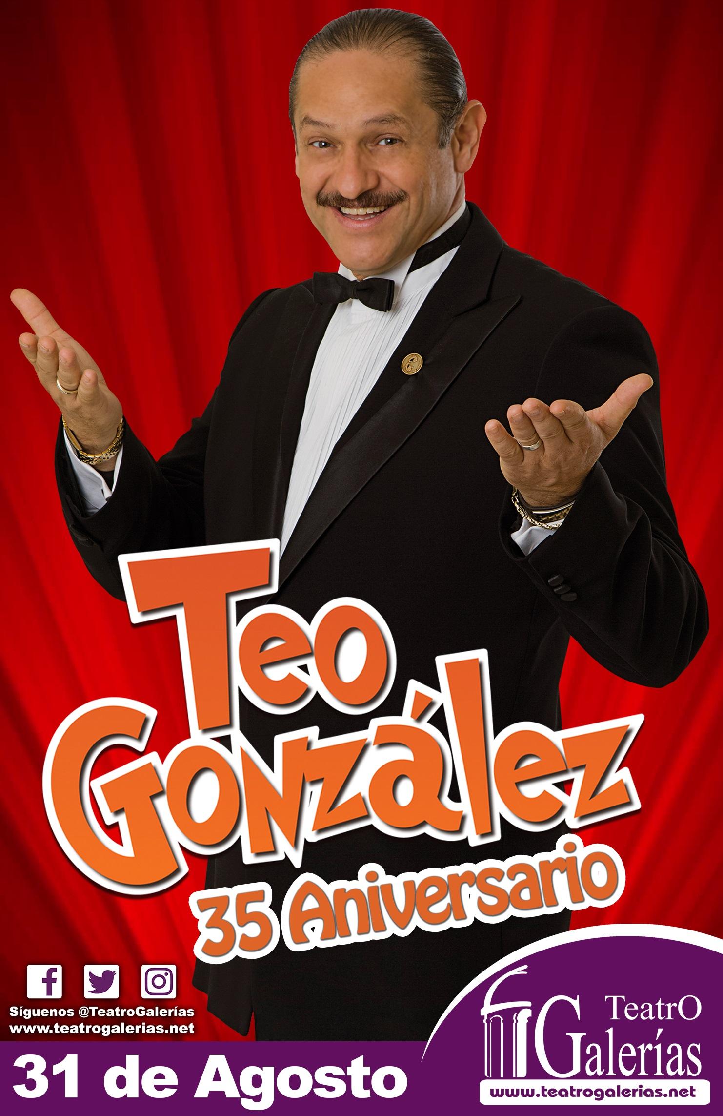 Teo González 35 Aniversario / Teatro Galerias