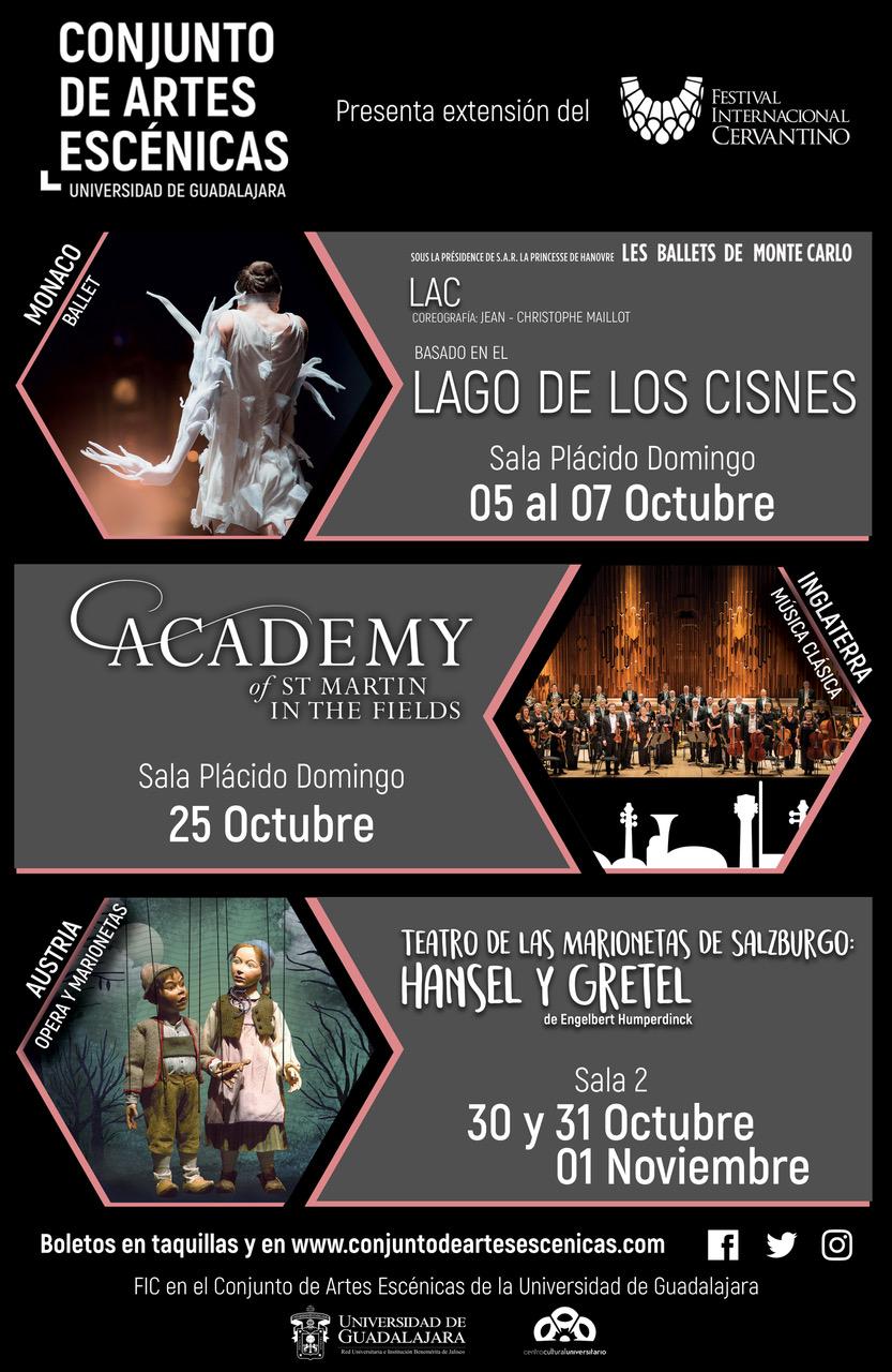 Extensión del Festival Internacional Cervantino / Conjunto de Artes Escénicas