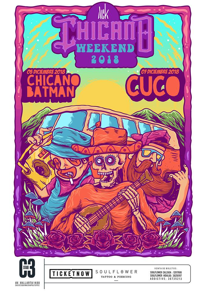 Chicano Weekend: Chicano Batman y Cuco / C3 Stage