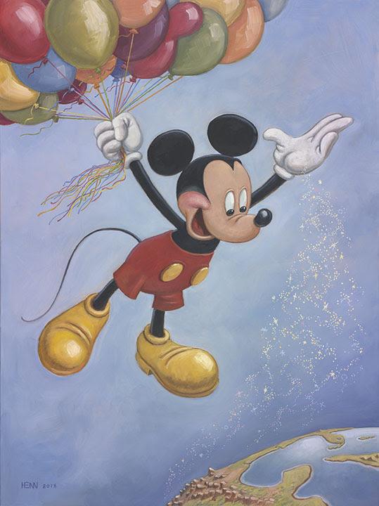 Se develó el retrato oficial del cumpleaños de Mickey Mouse