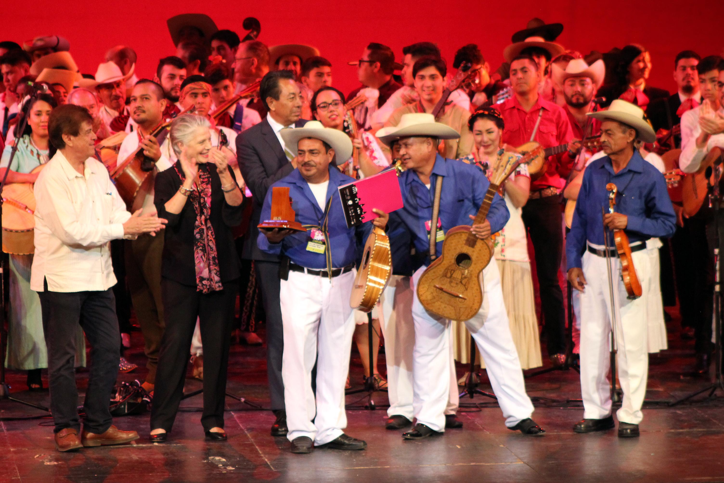 Concluye el Encuentro Nacional de Mariachi Tradicional
