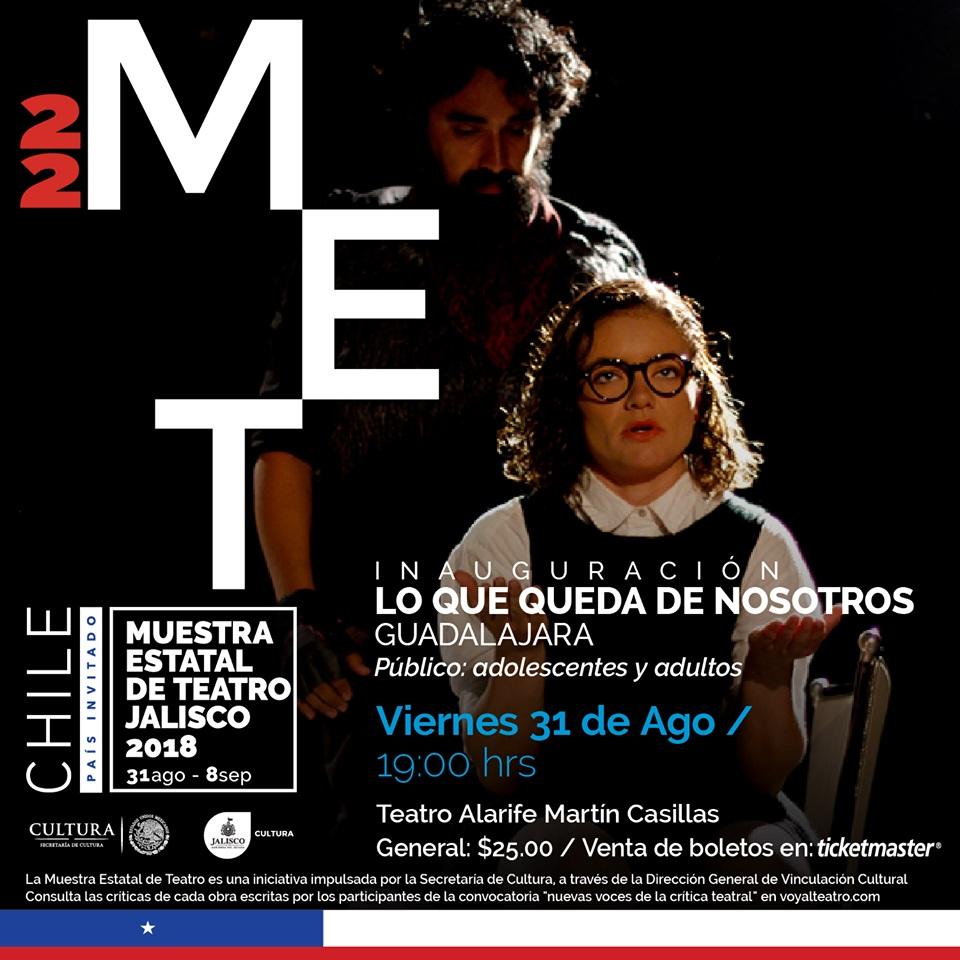 MET: Lo que queda de nosotros / Teatro Alarife Martín Casillas