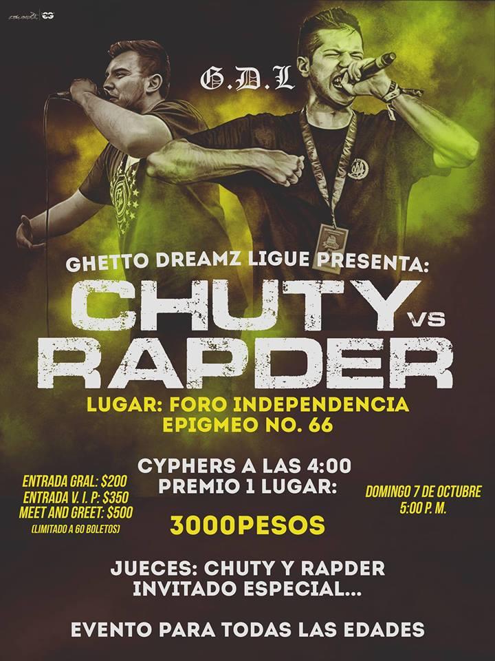 Chuty Vs Rapder / Foro Independencia