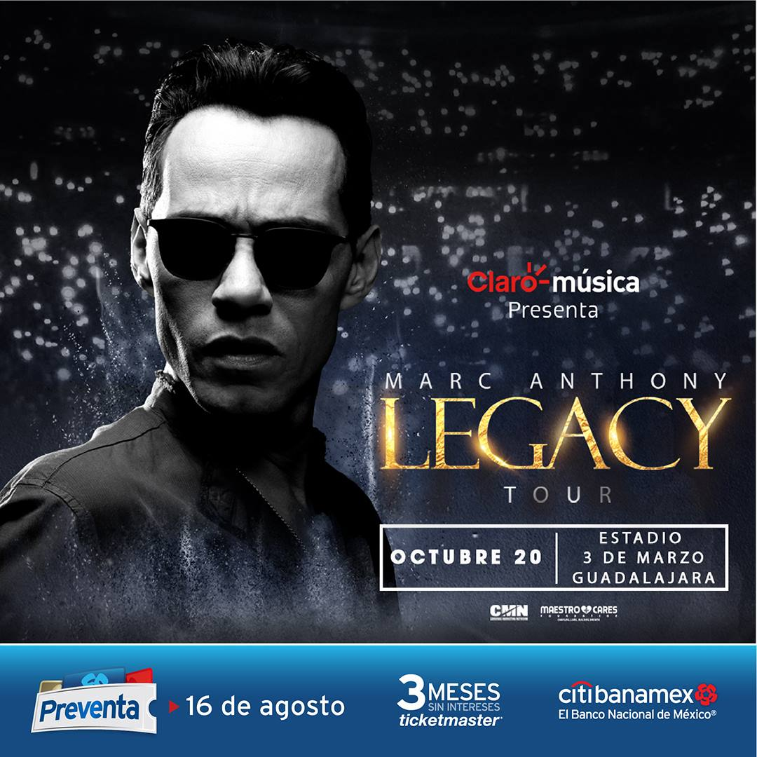 Marc Anthony / Estadio 3 de marzo