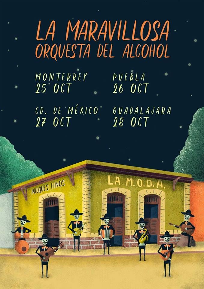 La Maravillosa Orquesta del Alcohol / Foro Independencia