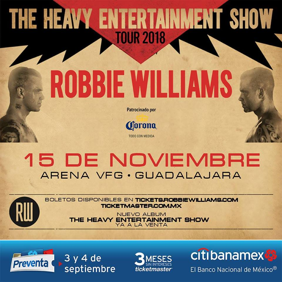 Robbie Williams / Arena VFG
