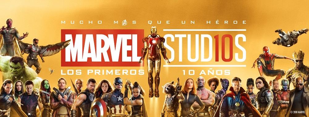 Los primeros 10 años de Marvel Studios se celebran en Cinépolis