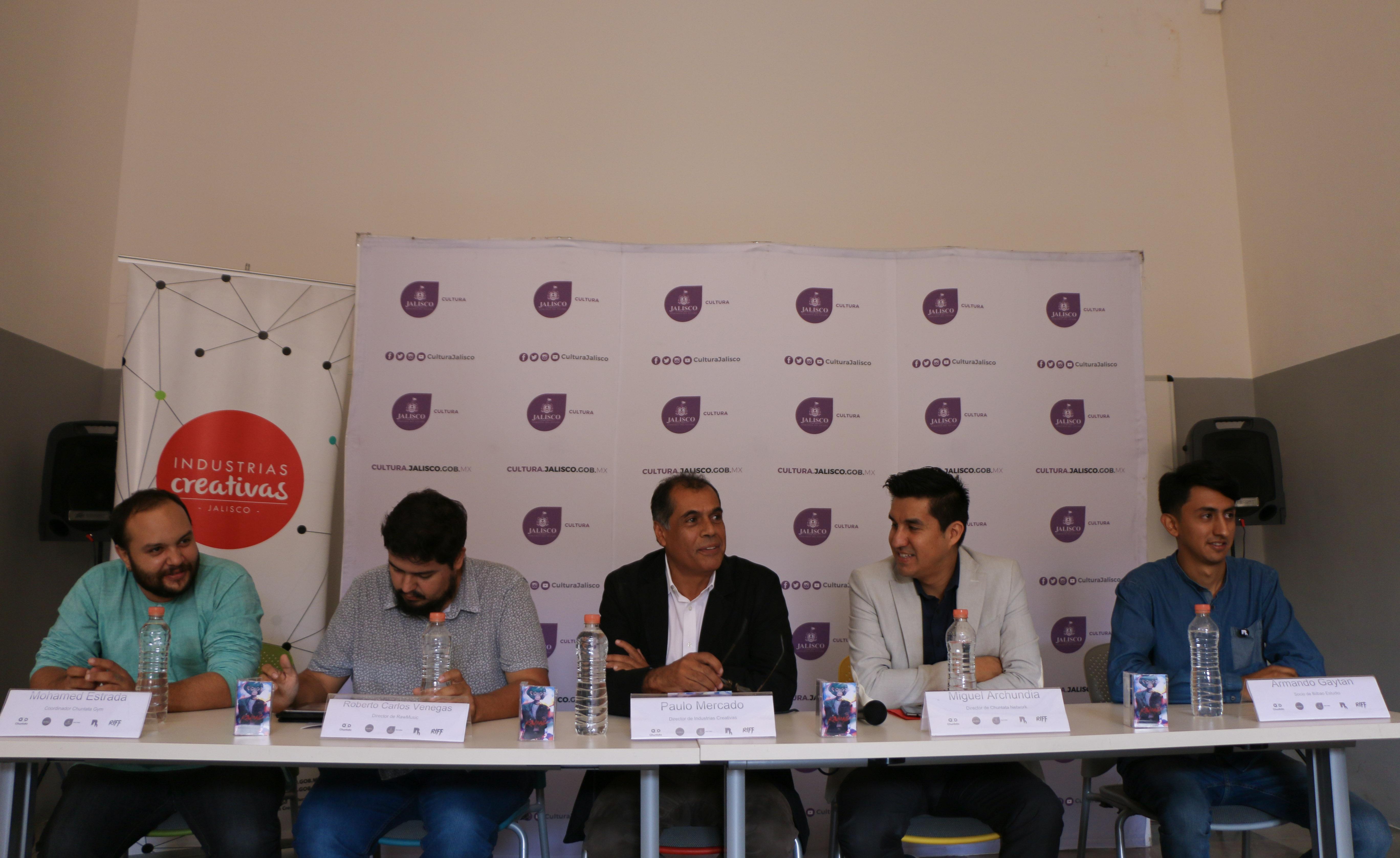 Presentan Chuntata Music empresa dedicada a la distribución y difusión de música en línea