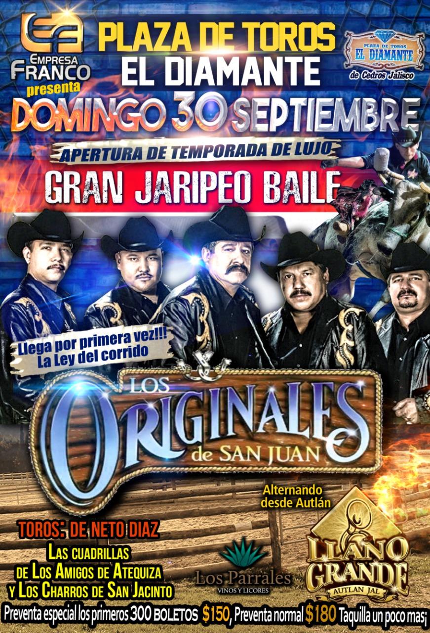 Gran Jaripeo Baile / Plaza de Toros el Diamante