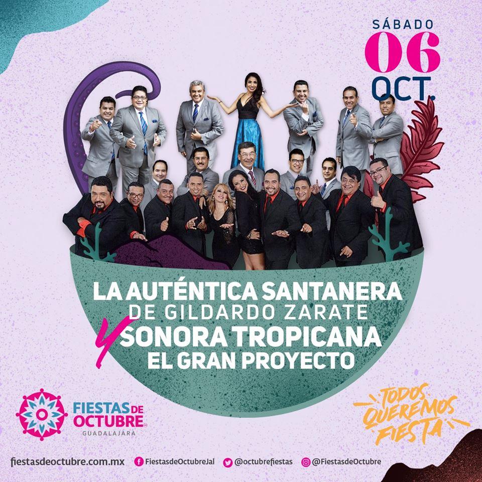 Sonora Santanera y Sonora Tropicana / Auditorio Benito Juarez