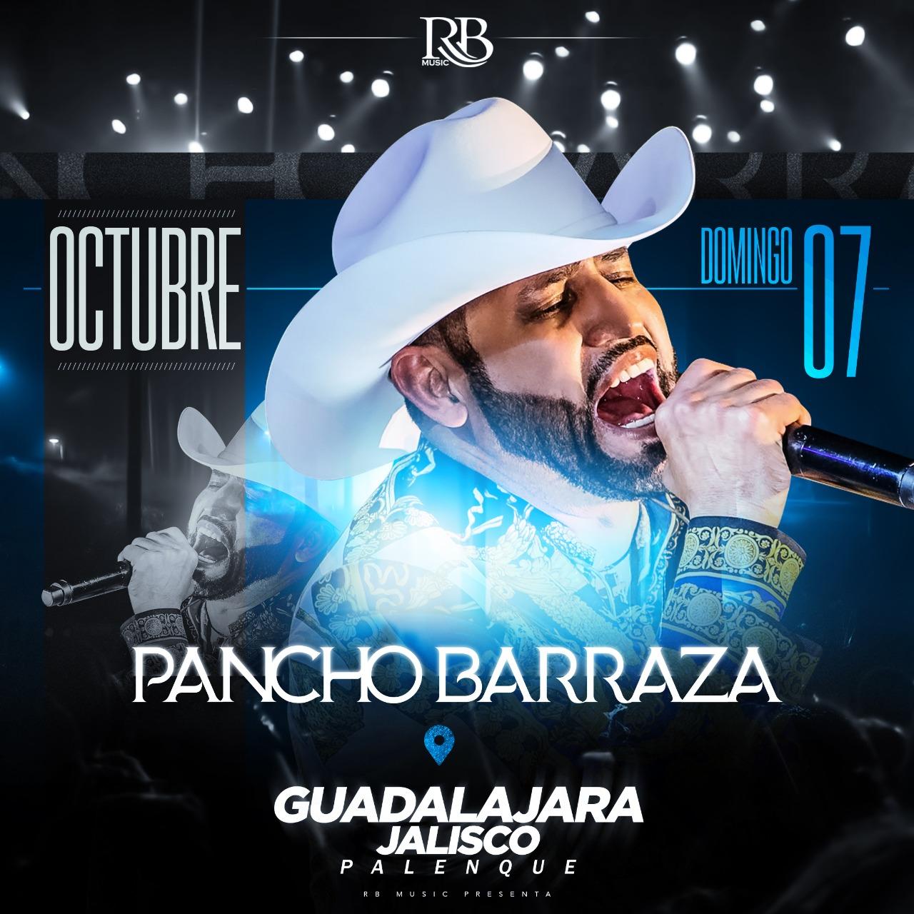 Pancho Barraza / Palenque Fiestas de Octubre