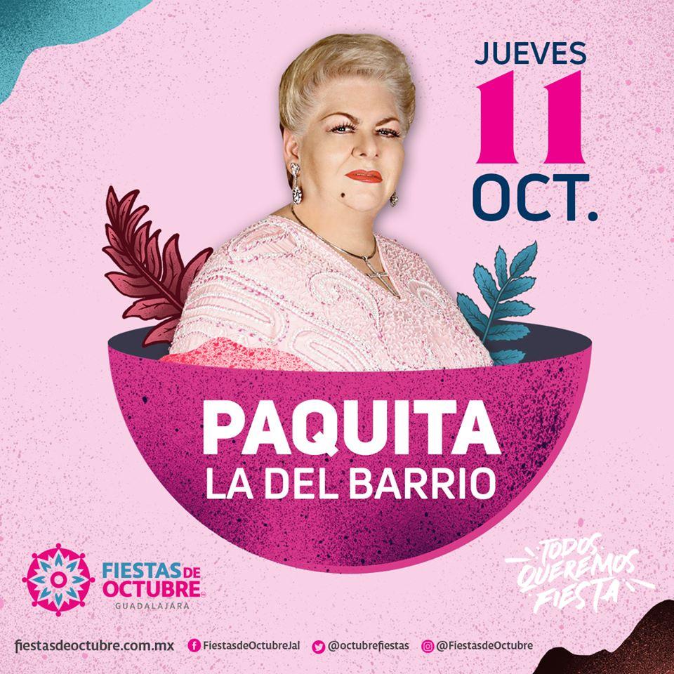 Paquita la del Barrio / Auditorio Benito Juárez