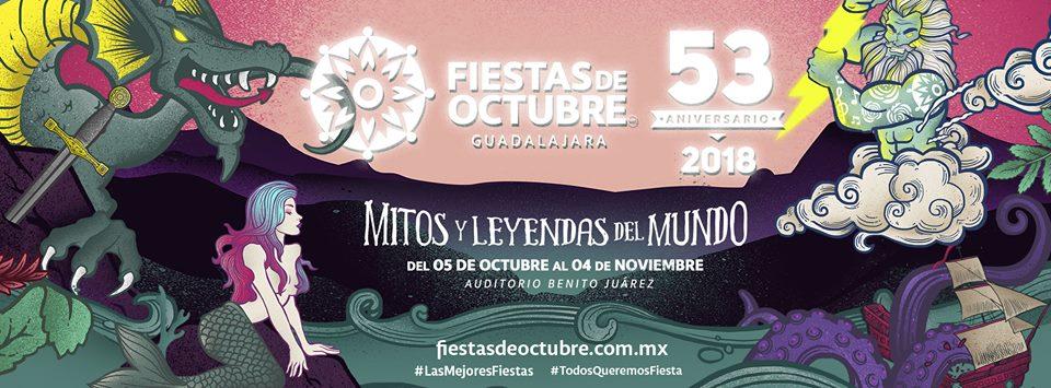 Fiestas de Octubre 2018 / Auditorio Benito Juárez