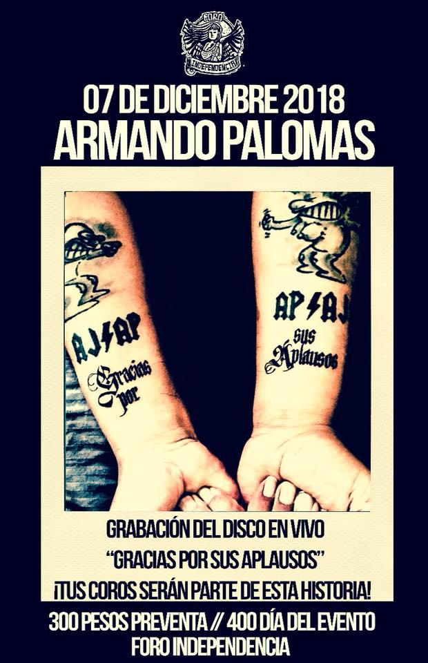 Armando Palomas / Foro Independencia