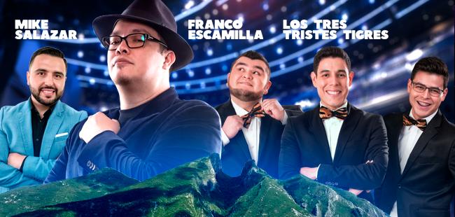 Franco Escamilla, Mike Salazar y Los tres tristes Tigres / Auditorio Telmex