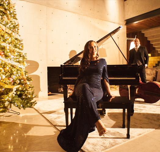 Una noche navideña con Aunt & Uncle Jazz / Estudio Diana
