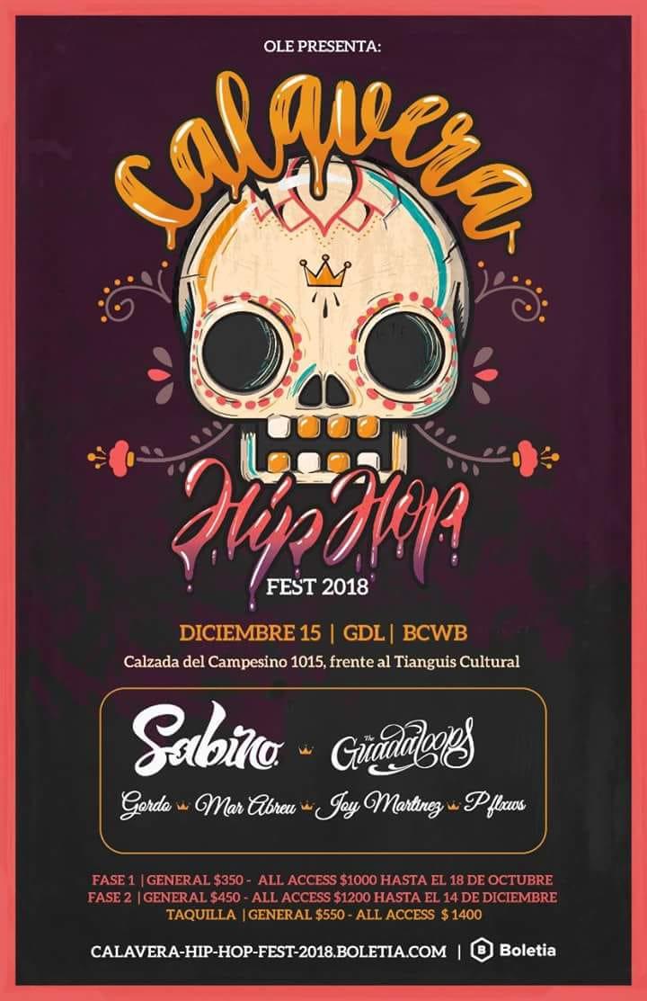 Calavera HIP HOP Fest 2018 / BCWB