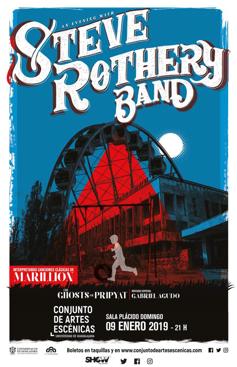 Steve Rothery Band / Conjunto de Artes Escénicas