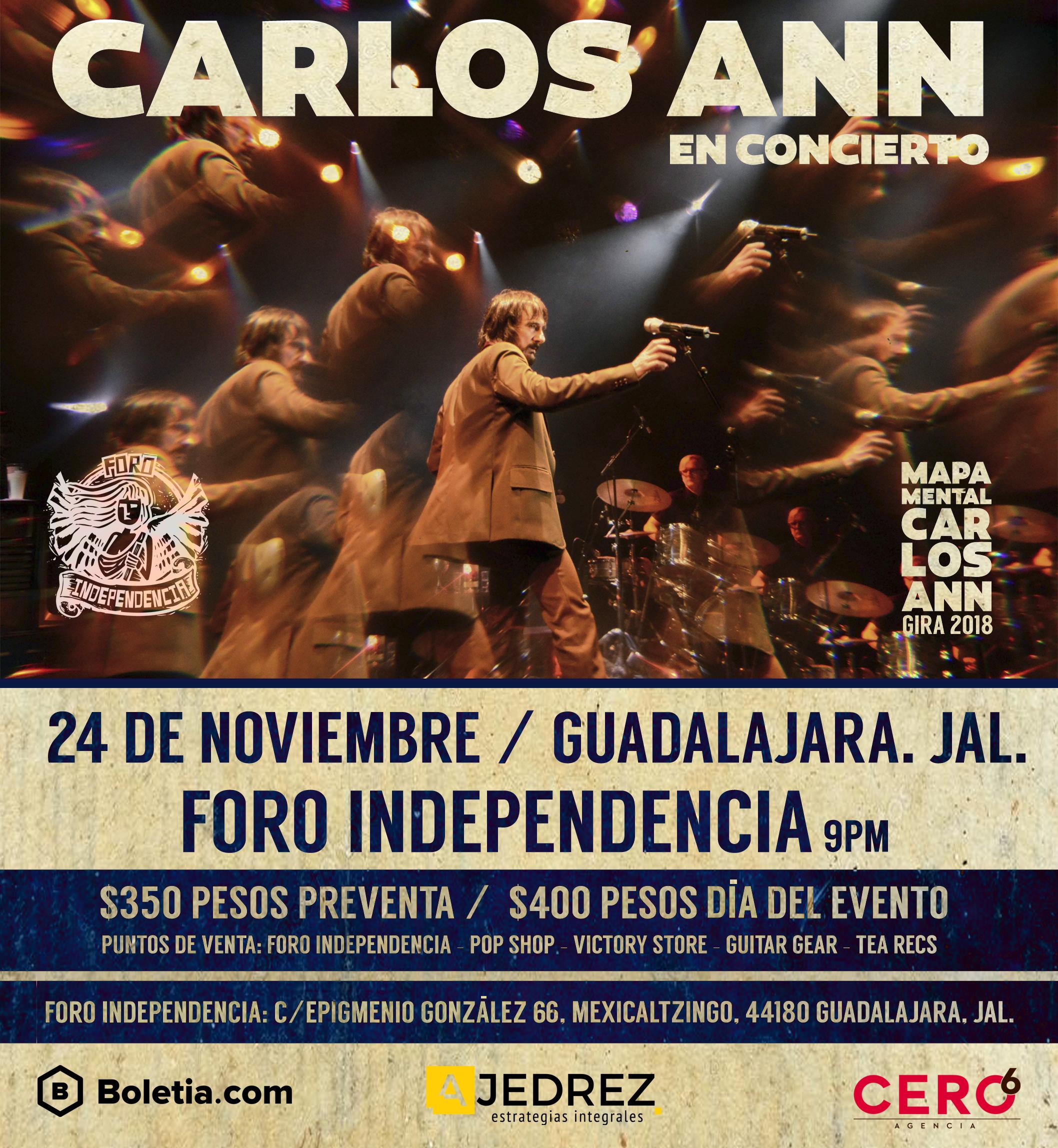 Carlos Ann / Foro Independencia