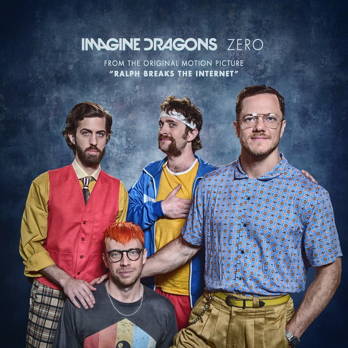 """Imagine Dragons compone e interpreta """"ZERO"""", la canción de los créditos finales de Wifi Ralph, la nueva película animada de Disney"""